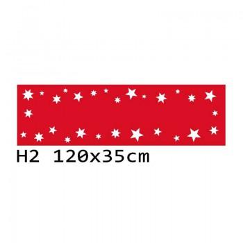 H2 120x35 cm Bieżnik obrus świąteczny z filcu na stół