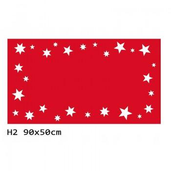 H2 90x50 cm Bieżnik obrus świąteczny z filcu na stół