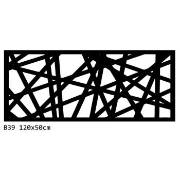 B39 120x50 cm Bieżnik obrus na stół z filcu