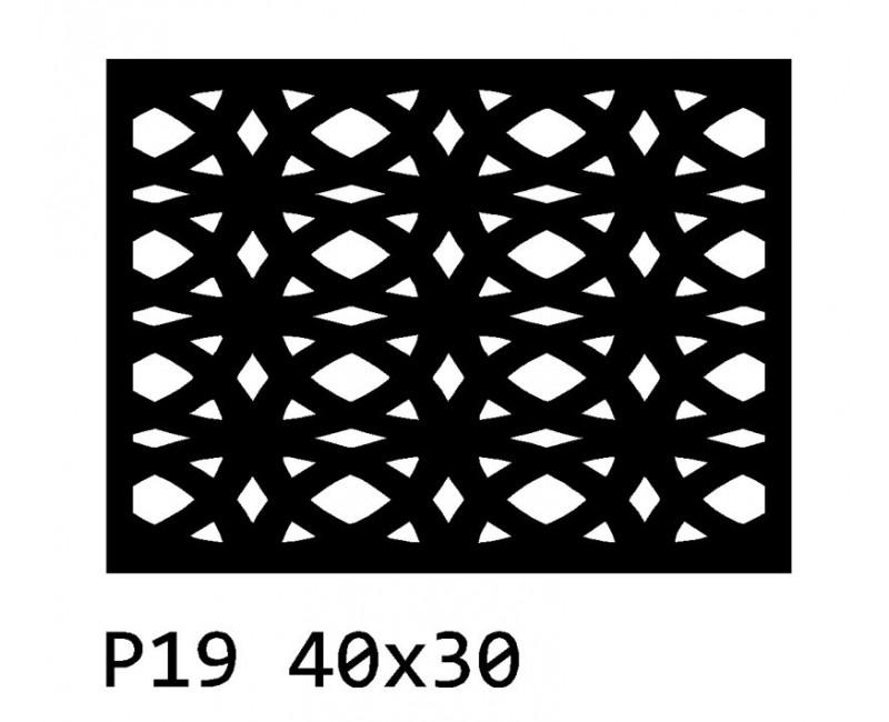 B19 40x30 cm Bieżnik obrus na stół z filcu