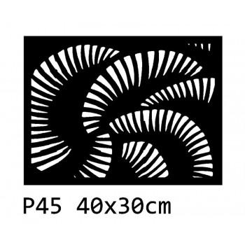 B45 40x30 cm Bieżnik obrus na stół z filcu