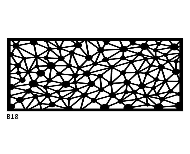 B10 120x50 cm Bieżnik obrus z filcu na stół