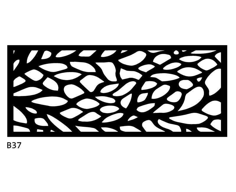 B37 120x50 cm Bieżnik obrus z filcu na stół