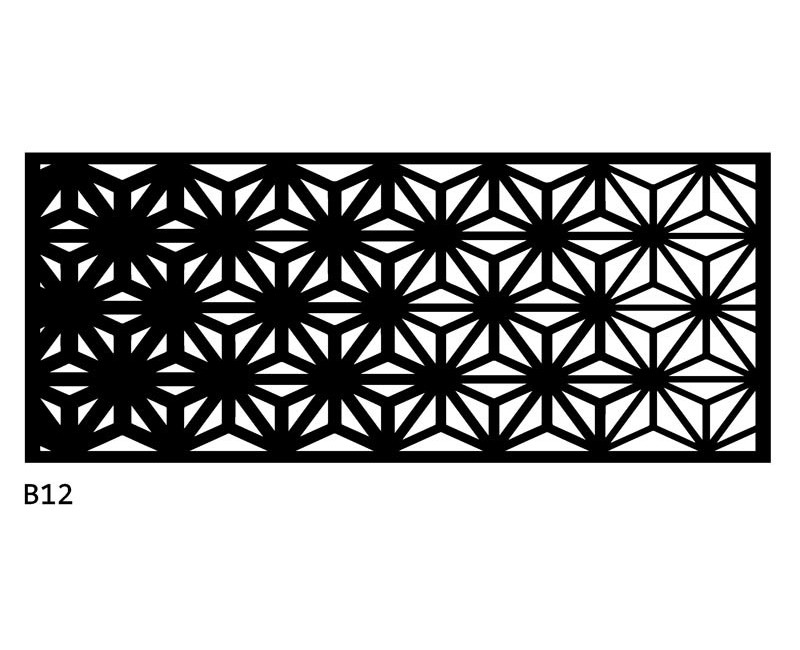 B12 120x50 cm Bieżnik obrus z filcu na stół