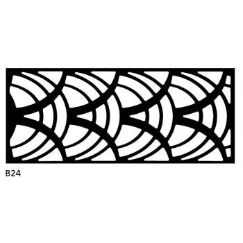 B24 120x50 cm Bieżnik obrus z filcu na stół