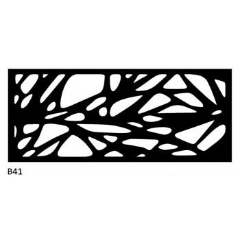 B41 120x50 cm Bieżnik obrus z filcu na stół