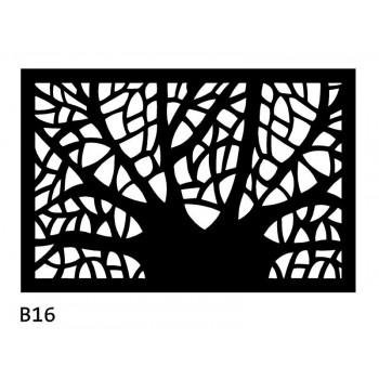 B16 75x50 cm Bieżnik obrus z filcu na stół