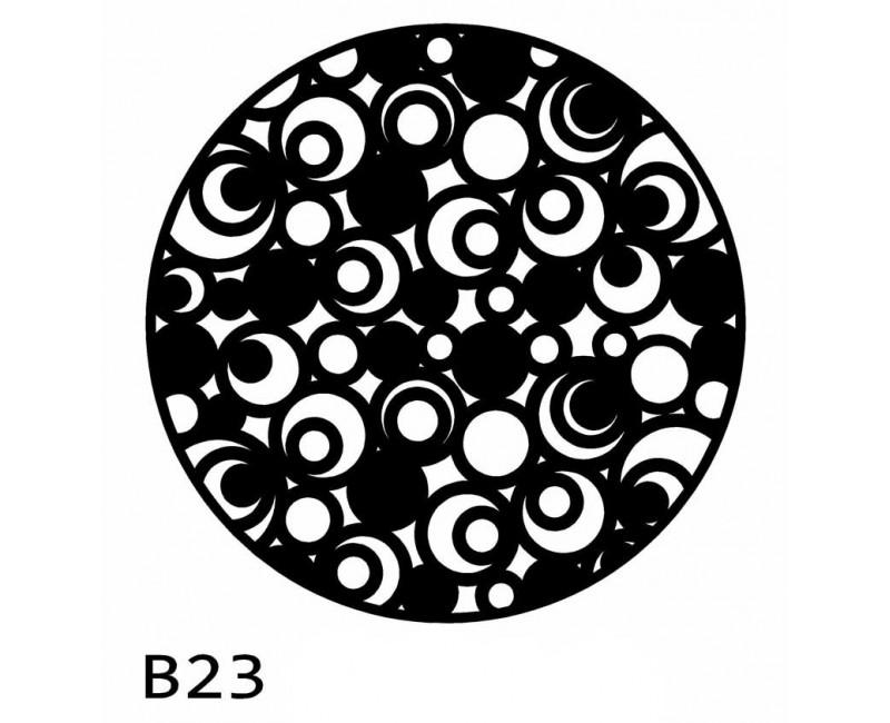 B23 Bieżnik obrus okrągły z filcu na stół