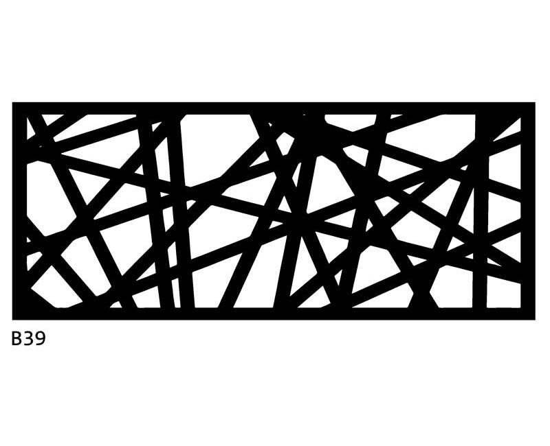 B39 120x60 cm Bieżnik obrus z filcu na stół