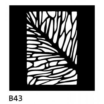 B43 50x50 cm Bieżnik obrus z filcu na stół