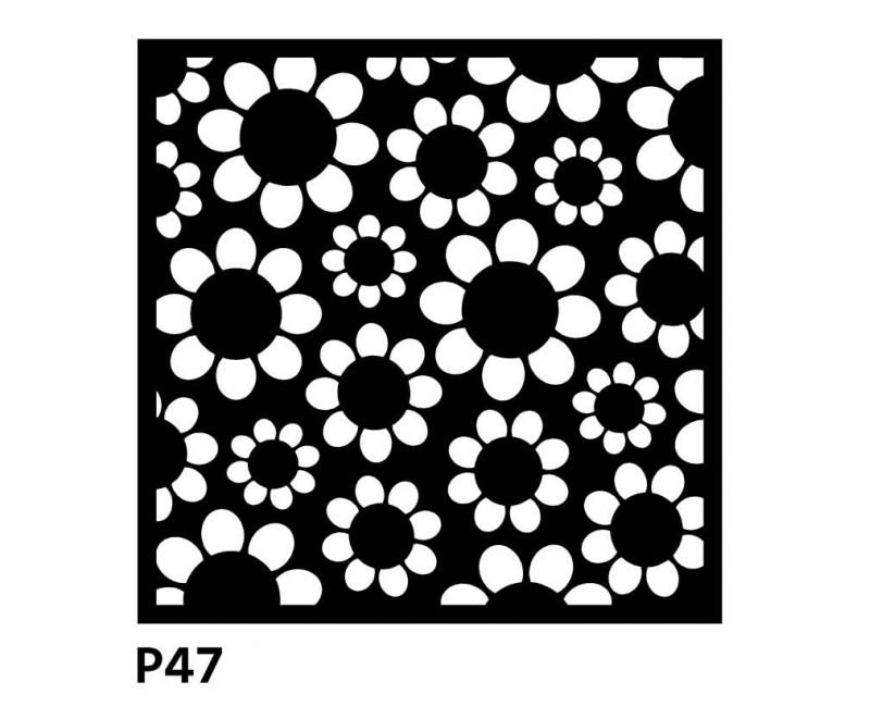 B47 50x50 cm Bieżnik obrus z filcu na stół