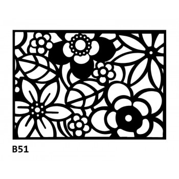 B51 Bieżnik obrus z filcu na stół
