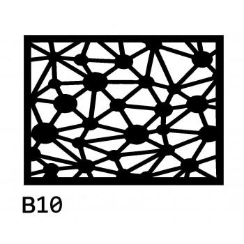 B10 40x30 cm Bieżnik obrus z filcu na stół