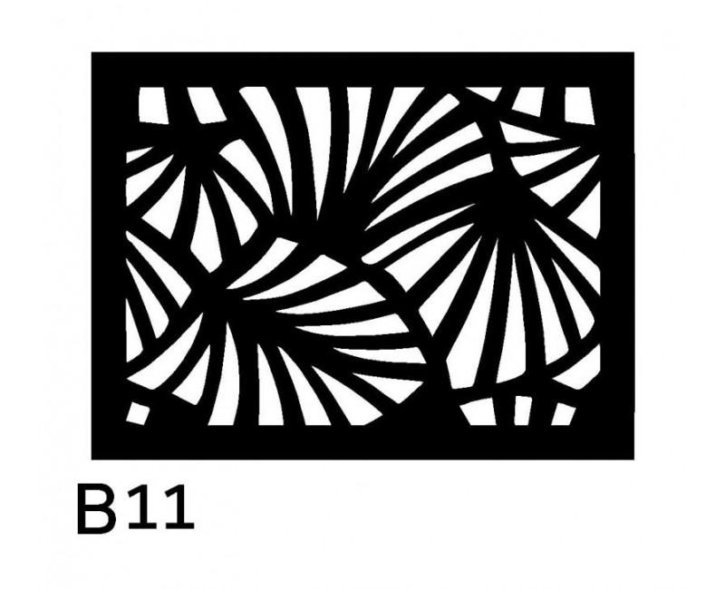 B11 40x30 cm Bieżnik obrus z filcu na stół