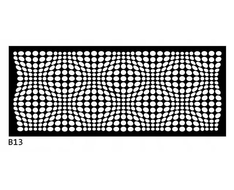 B13 200x50 cm Bieżnik obrus z filcu na stół