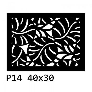 B14 40x30 cm Bieżnik obrus z filcu na stół