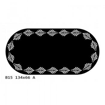 B15 134x66 cm Bieżnik obrus okrągły z filcu na stół