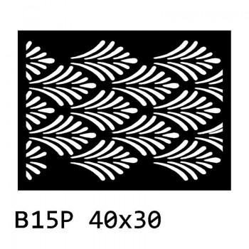 B15P 40x30 cm Bieżnik obrus okrągły z filcu na stół