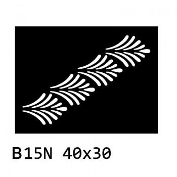 B15N 40x30 cm Bieżnik obrus okrągły z filcu na stół