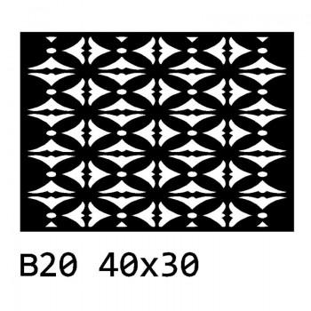 B20 40x30 cm Bieżnik obrus na stół z filcu