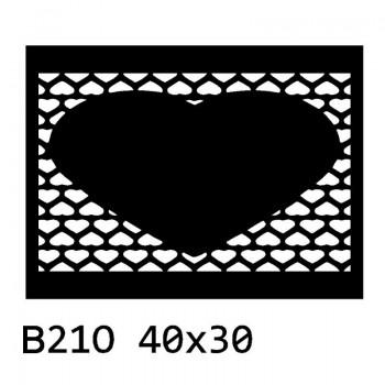 B21 40x30 cm Bieżnik obrus na stół z filcu
