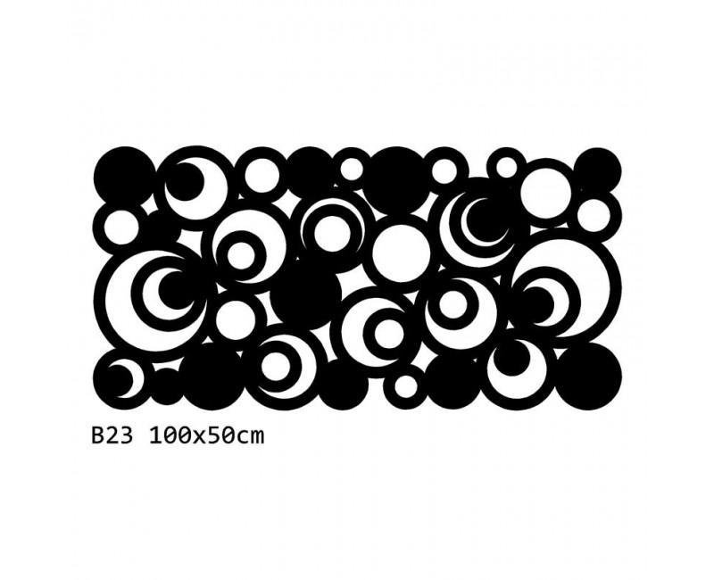 B23 100x50 cm Bieżnik obrus z filcu na stół