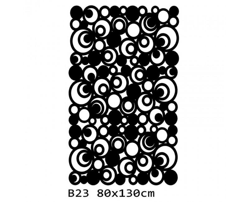 B23 130x80 cm Bieżnik obrus na stół z filcu
