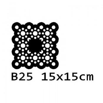 B25 15x15 cm Bieżnik obrus na stół z filcu