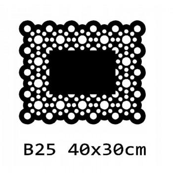 B25 40x30 cm Bieżnik obrus na stół z filcu