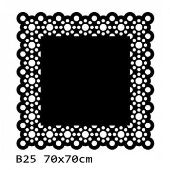 B25 70x70 cm Bieżnik obrus na stół z filcu
