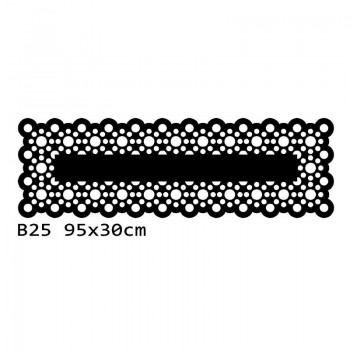 B25 95x30 cm Bieżnik obrus na stół z filcu