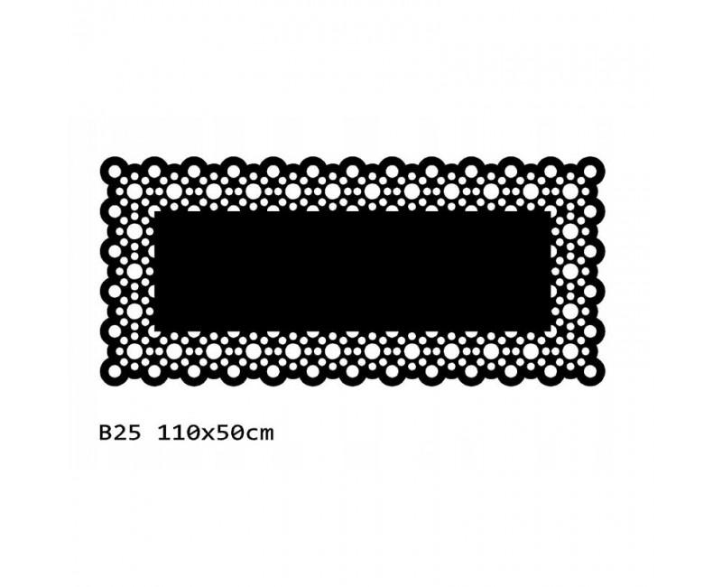 B25 110x50 cm Bieżnik obrus na stół z filcu