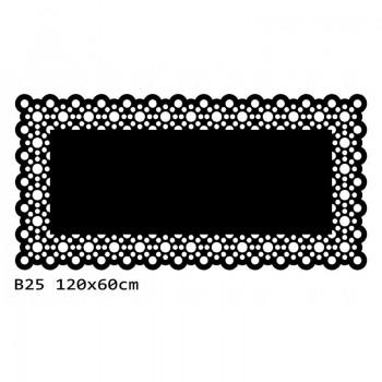 B25 120x60 cm Bieżnik obrus na stół z filcu