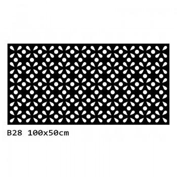 B28 100x50 cm Bieżnik obrus na stół z filcu