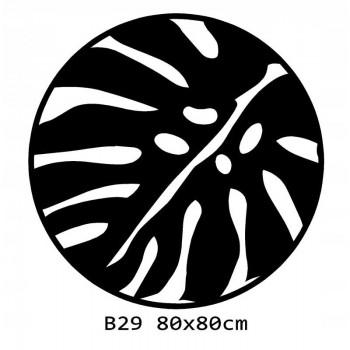 B29 FI80 Bieżnik obrus okrągły z filcu na stół