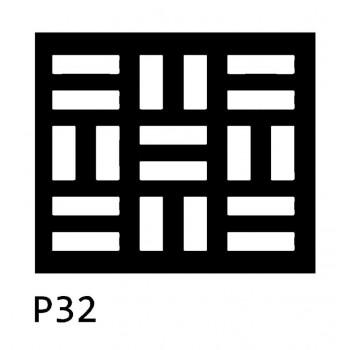 B32 40x30 cm Bieżnik obrus z filcu na stół