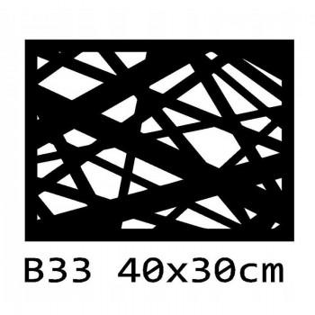 B33 40x30 cm Bieżnik obrus na stół z filcu