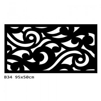 B34 95x50 cm Bieżnik obrus z filcu na stół