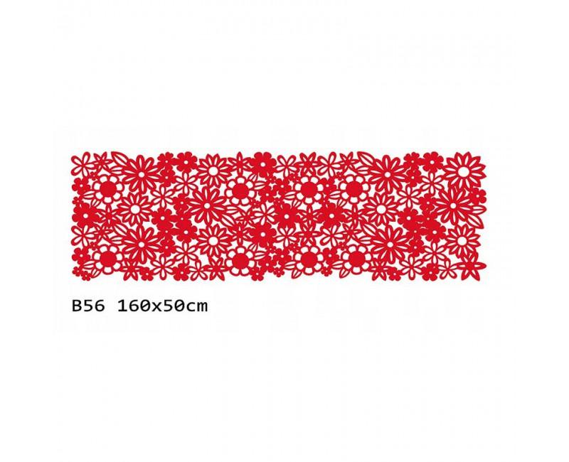 B56 160x50 cm Bieżnik obrus z filcu na stół