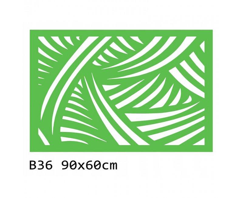 B36 90x60 cm Bieżnik obrus z filcu na stół