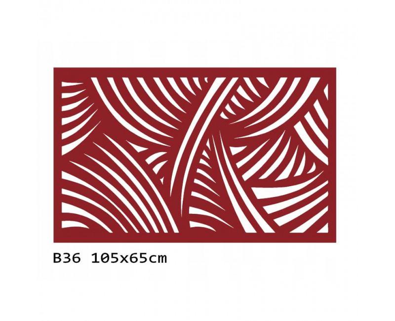 B36 105x65 cm Bieżnik obrus na stół z filcu