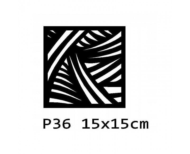 B36 15x15 cm Bieżnik obrus na stół z filcu