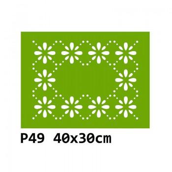 B49 40x30 cm Bieżnik obrus na stół z filcu