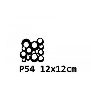 B54 12x12 cm Bieżnik obrus na stół z filcu