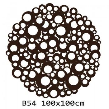 B54 FI100 Bieżnik obrus okrągły z filcu na stół