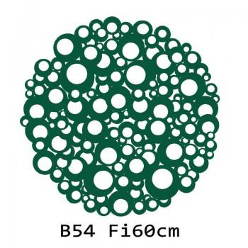B54 FI60 Bieżnik obrus okrągły z filcu na stół