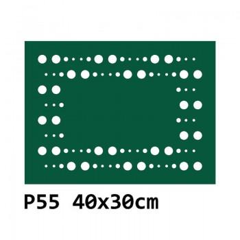 B55 40x30 cm Bieżnik obrus z filcu na stół