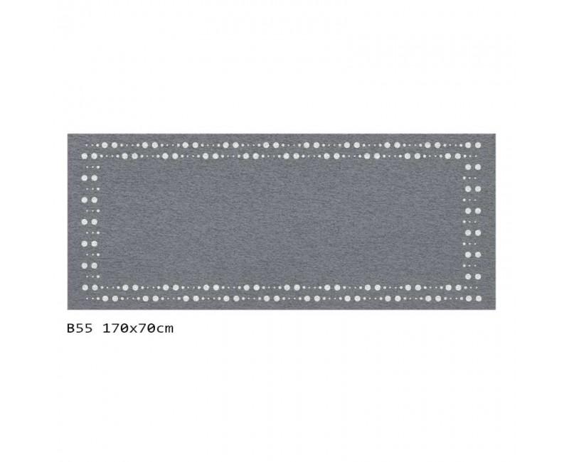 B55 170x70 cm Bieżnik obrus z filcu na stół