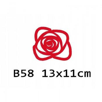 B58 13x11 cm Podkładka z filcu na stół