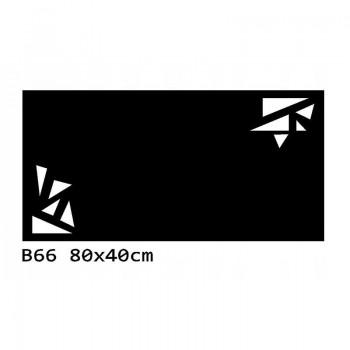 B66 80x40 cm Bieżnik obrus z filcu na stół